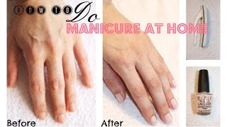 How to do your own Manicure at Home Thumbnail
