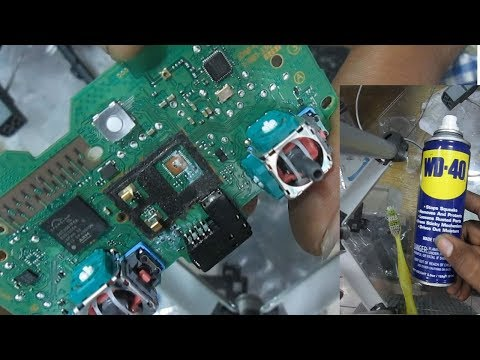 how to fix water damage ps4 controller
