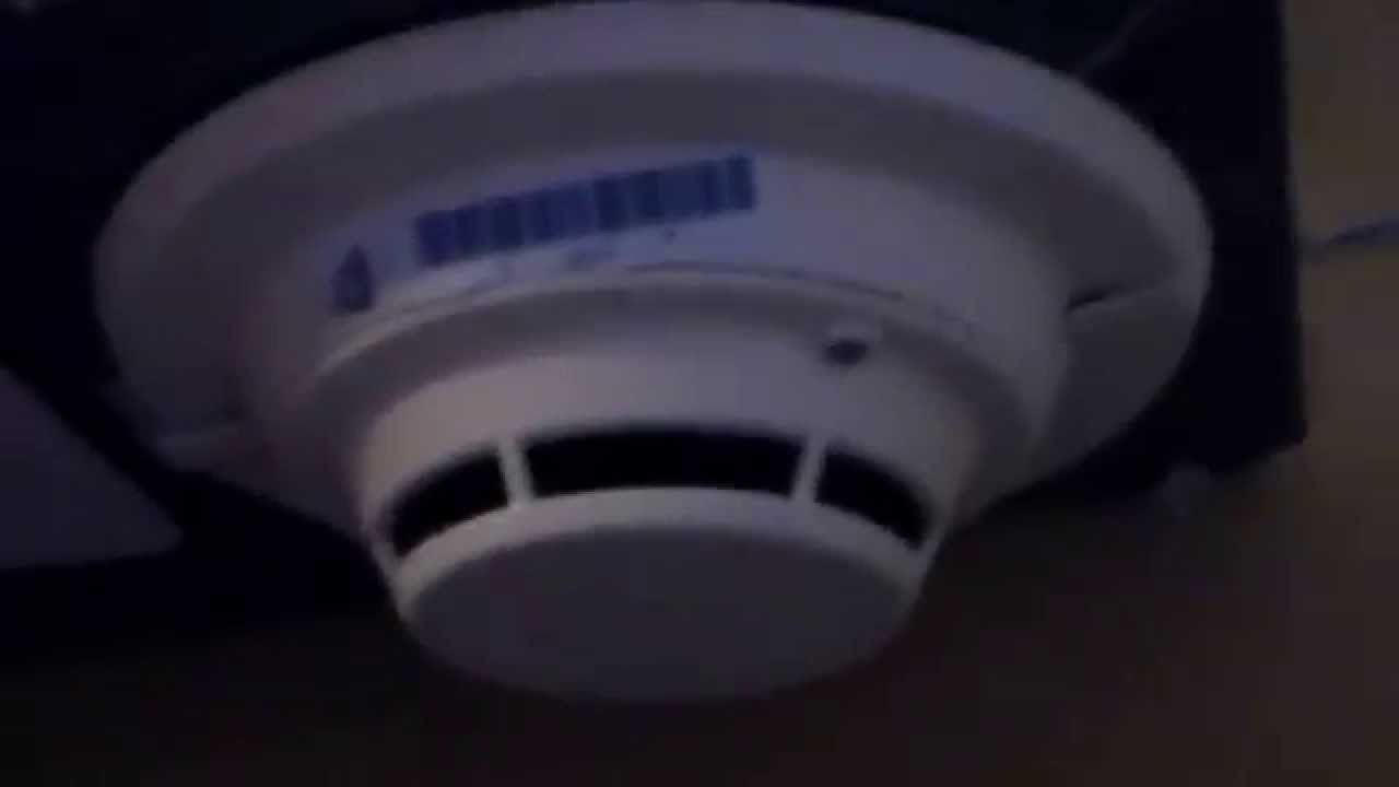 hight resolution of siemens pe 11 smoke detector is wired to the fire alarm system