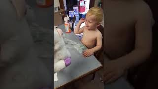 Mum Pranks Son With Cute-Cum-Scary Toy