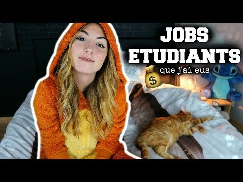 Les JOBS ETUDIANTS que j'ai eus (+ conseils)