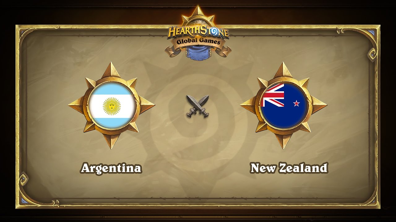 Argentina vs New Zealand | Hearthstone Global Games (05.05.2017)
