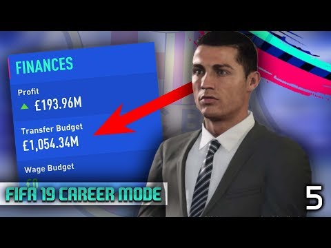 £1,000,000,000 TRANSFER BUDGET IN CAREER MODE! - FIFA 19 Barcelona Career Mode Episode #5