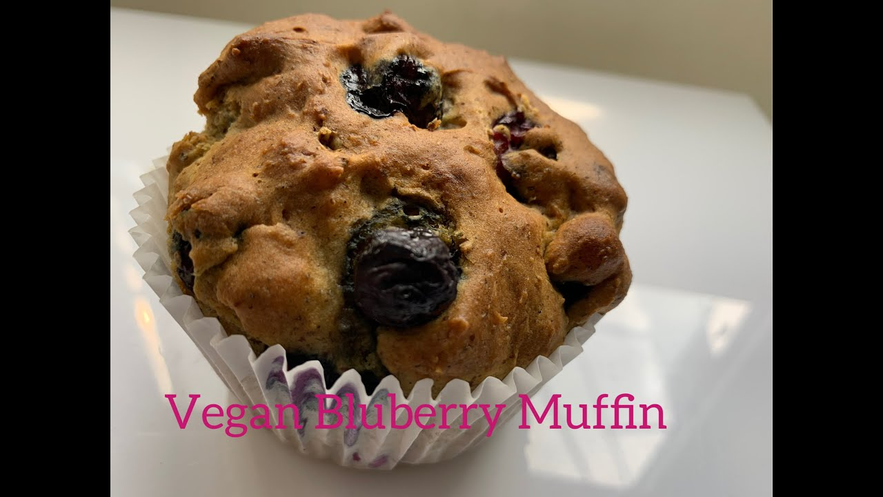 Vegan Bleuberry Muffin