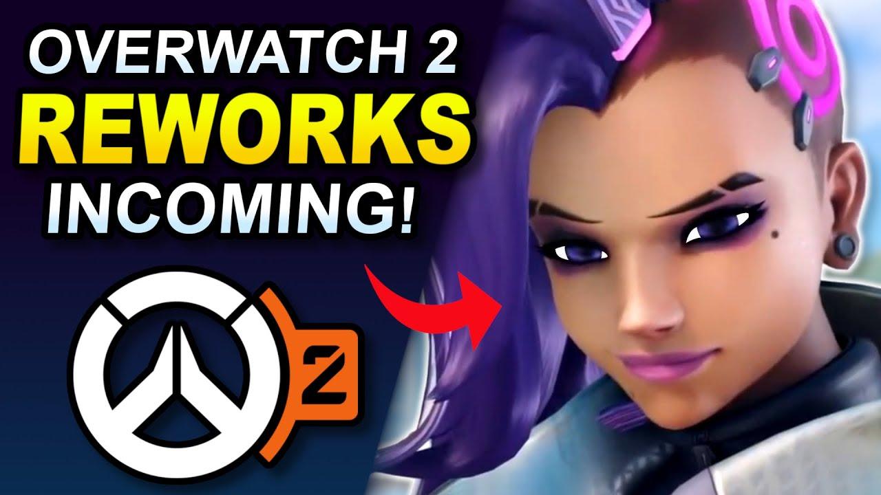 Download Bastion & Sombra REWORK REVEALS Coming Soon! (Overwatch 2 News)