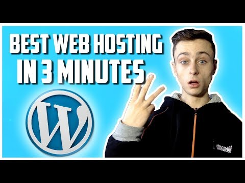 best-web-hosting-for-wordpress-2020-in-3-minutes!