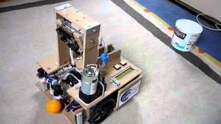 Robot Pong2 - Repérage et récupération d