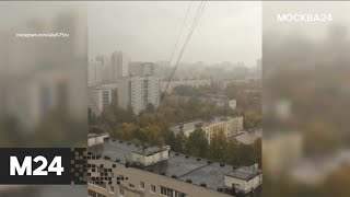 """Смотреть видео """"Погода"""": пасмурная погода ожидает москвичей - Москва 24 онлайн"""