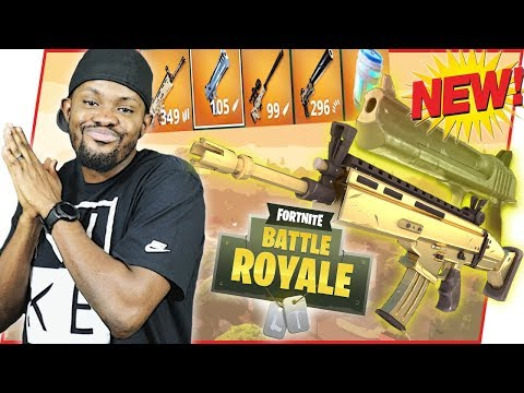 BRAND NEW SOLID GOLD GAME MODE! - FortNite Battle Royale Ep.93