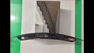 [KingHome.vn] Lắp đặt thực tế máy hút mùi kính cong KAFF KF-GB902/GB702