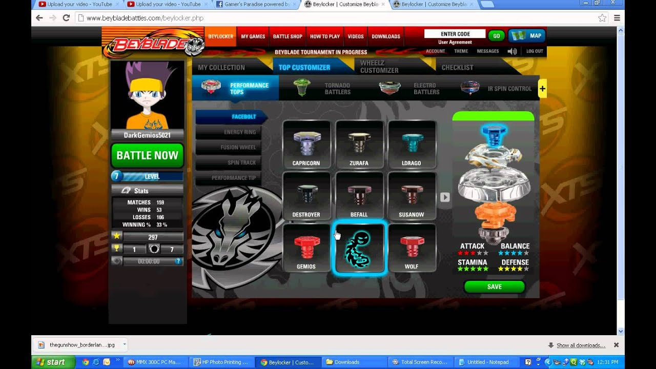 Beyblade Play Online