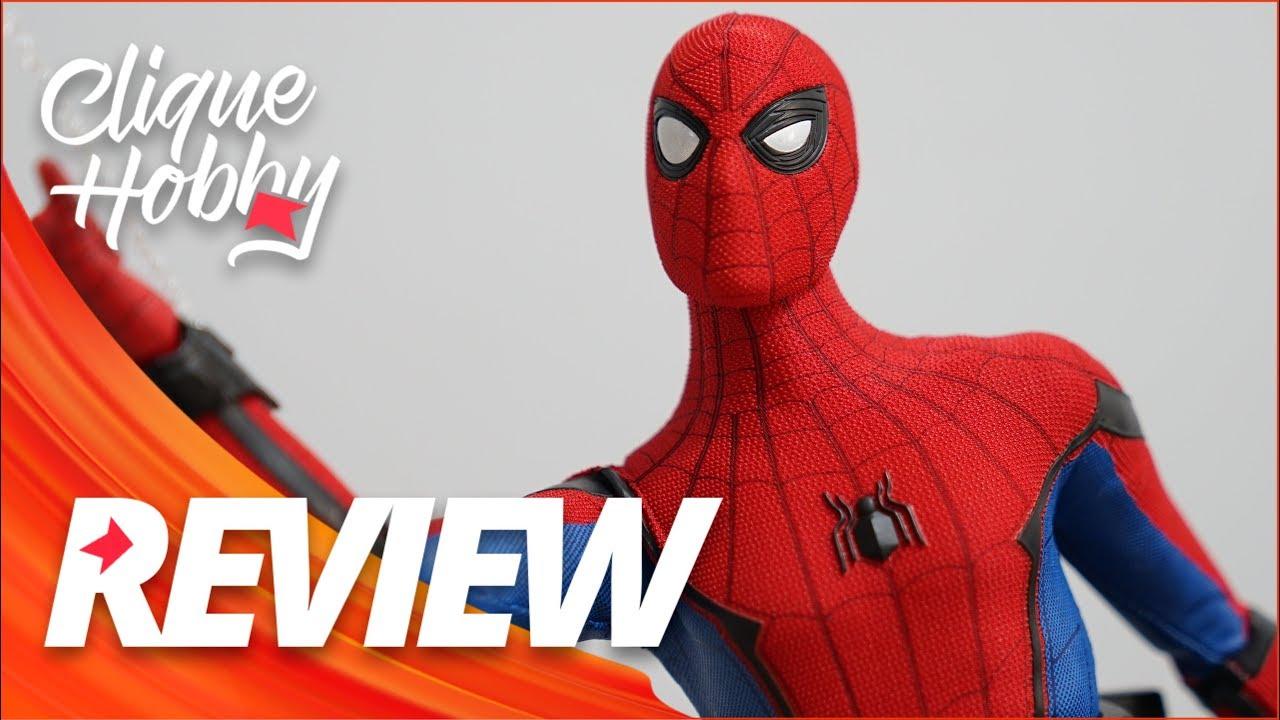Homem Aranha Homecoming 1 6 Hot Toys Deluxe Spiderman Youtube
