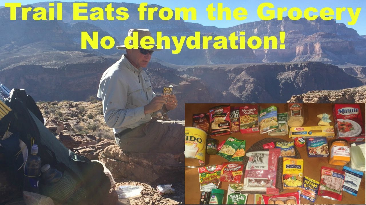 10 Grocery Store Backpacking Meals No Dehydration Youtube