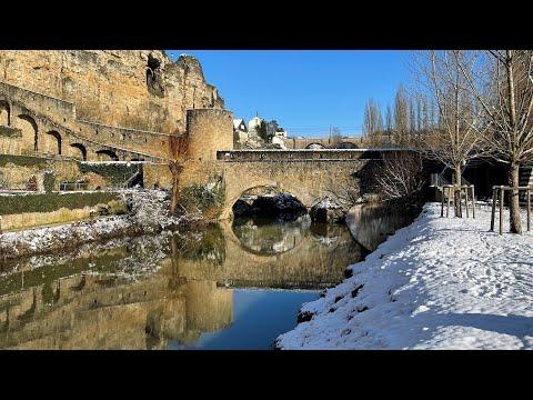 Winter of Luxembourg City - hiver Luxembourg ville - vidéo de tourisme - Grand-Duchy travel film