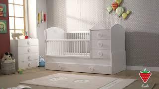 Baby/barnsäng- två sängar i ett!