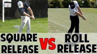 HOW TO RELEASE THE GOLF CLUB  Square Vs. Roll Release