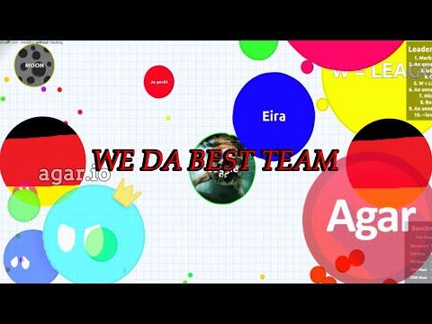 ME & GERMANY ARE THE BEST! Agar.io Gameplay