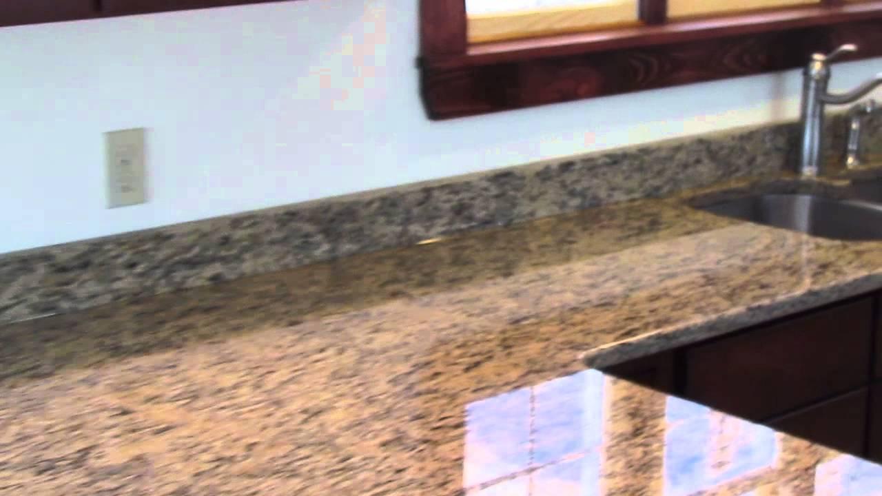 Custom Made In Maine St  Cecilia Granite Countertop Installed W/ Seam &  Undermount Sink
