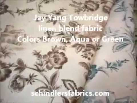 Jay Yang Pattern Towbridge Decorating Fabric