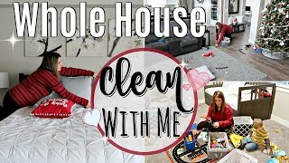 WHOLE HOUSE CLEAN WITH ME 2018 :: EXTREME CLEANING MOTIVATION :: SAHM ALL DAY SPEED CLEANING ROUTINE