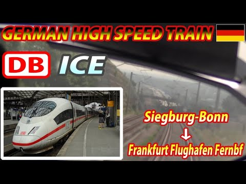 DB ICE / Cologne–Frankfurt High-Speed Rail Line / Siegburg-B