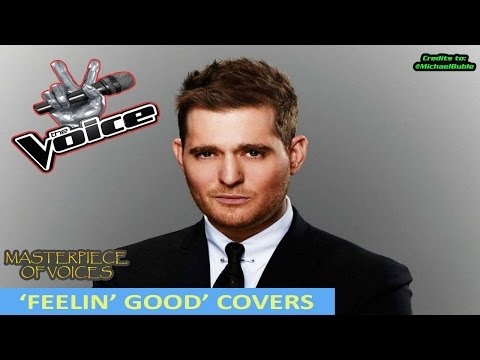'FEELING GOOD' COVER AUDITIONS IN THE VOICE
