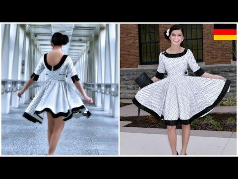 50 iger Jahre Kleid selber nähen – Vivienne Schnittmuster