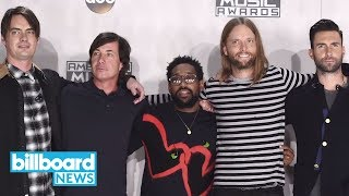 Maroon 5 Announce Red Pill Blues Tour with Julia Michaels | Billboard News