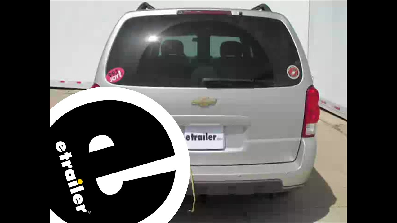 2006 Chevy Uplander Starter Wiring Diagram 42 07 Diagrams Maxresdefault Installation Of A Trailer Harness On Chevrolet