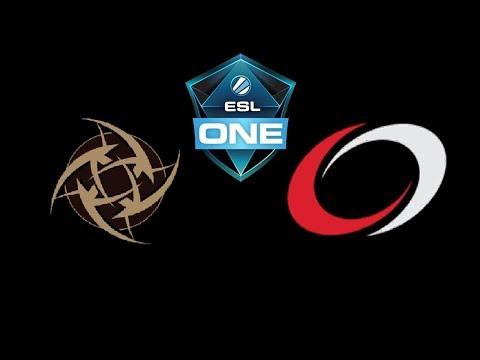 NiP vs coL ESL One Hamburg 2018 Highlights Dota 2