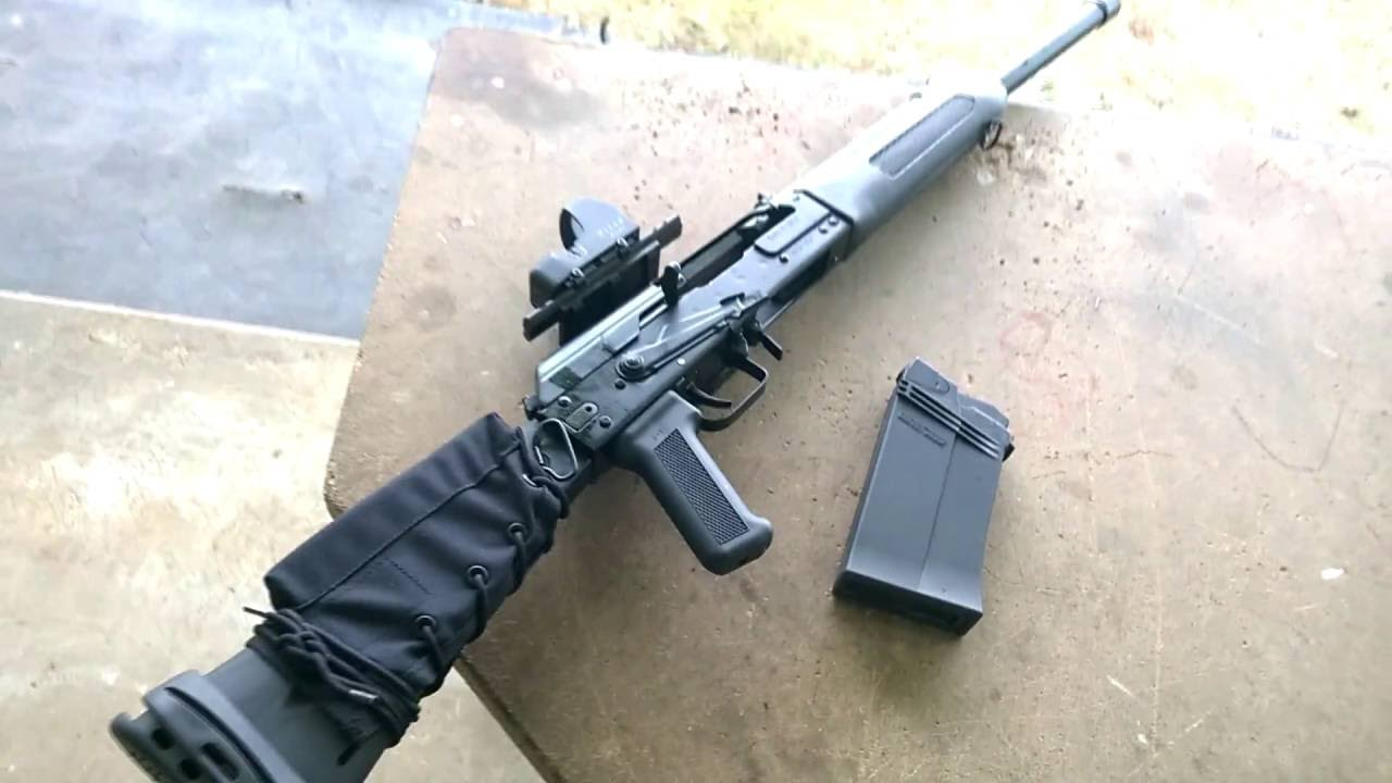 Modified Izhmash Saiga 12 with Pilad Red Dot | Low Brass and Magnum Ammo'
