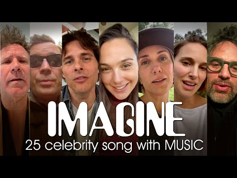 25 Celebrity - IMAGINE cover (song with music)