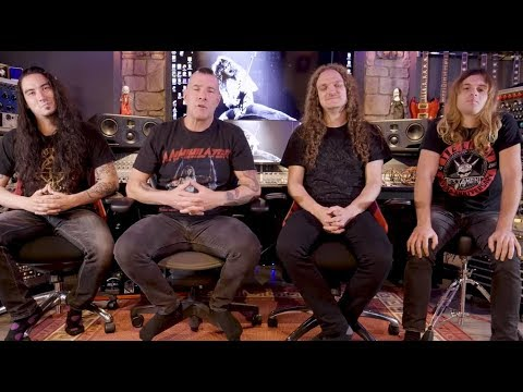 Annihilator release Part 1 of album documentary for Ballistic, Sadistic ..!