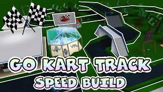 Roblox Bloxburg Go Kart Track speedbuild!