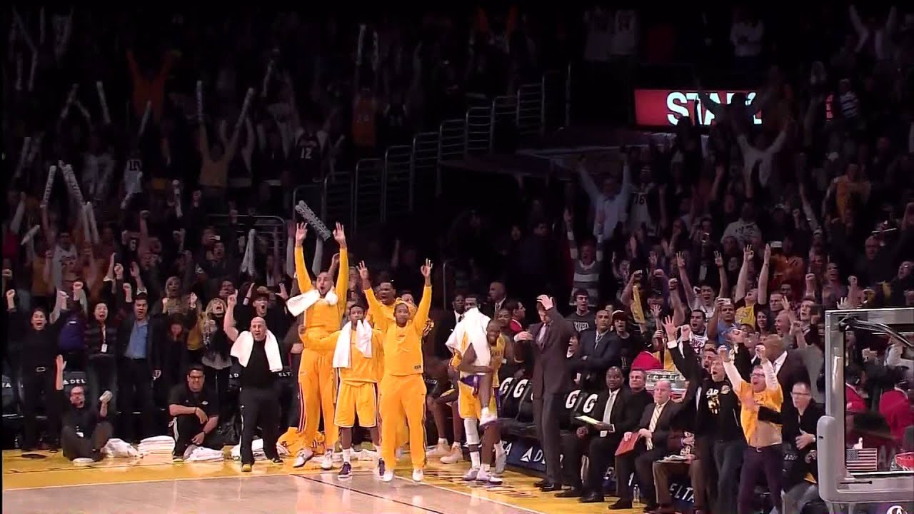 Raptors Vs Lakers Pinterest: 03 08 2013 Raptors Vs Lakers Team Highlights