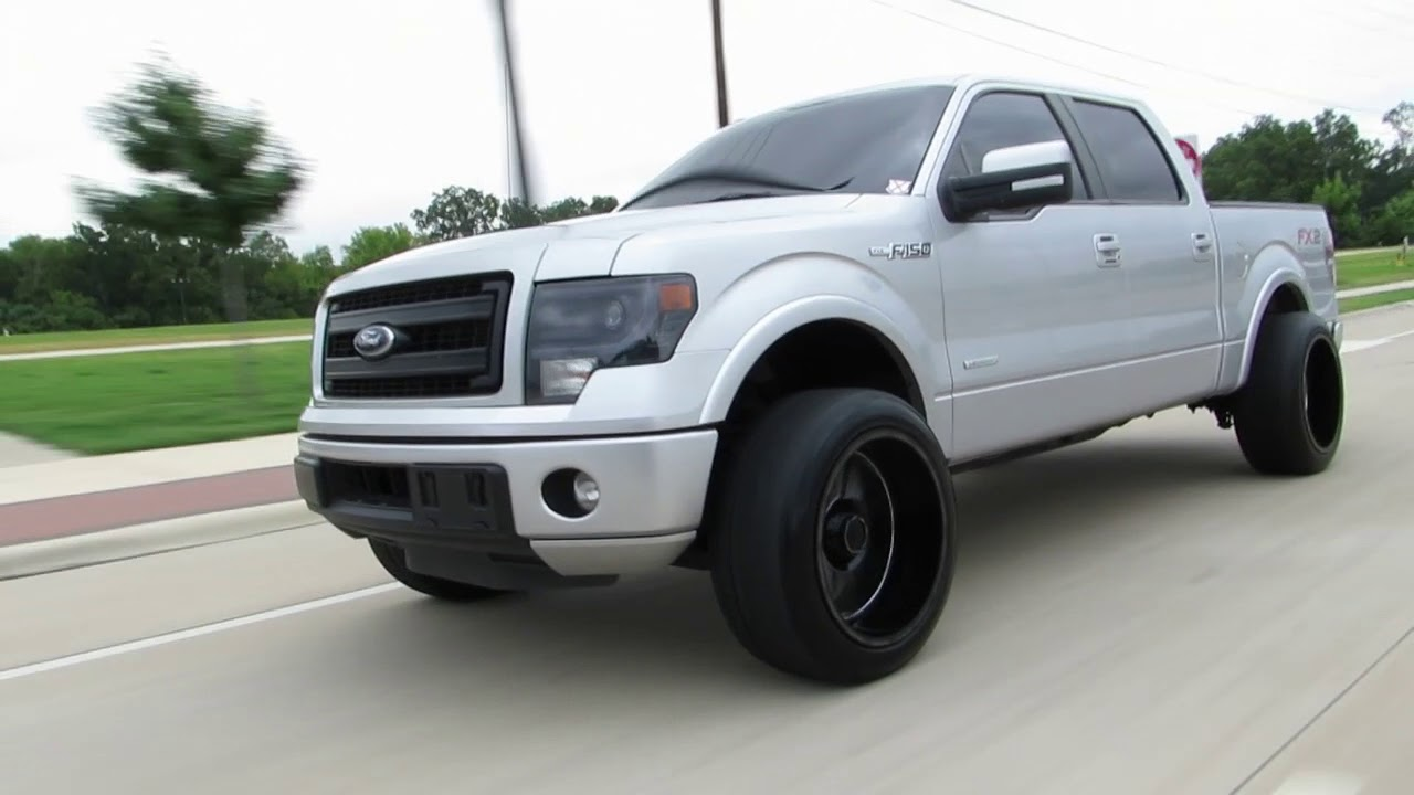 2014 F150 With 22x12 Youtube