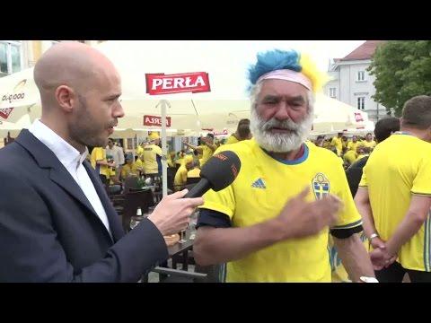 """Svenska fansens fina gest till hemlöse mannen: """"Han började gråta"""" - TV4 Sport"""
