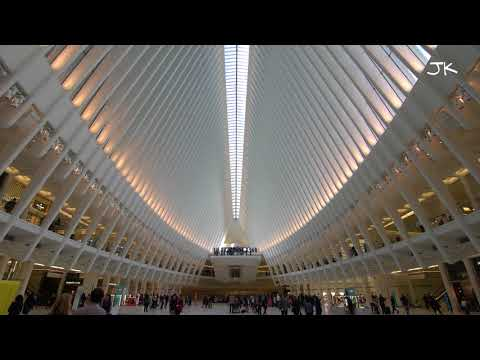 World Trade Center PATH Station, Oculus (4K Video)