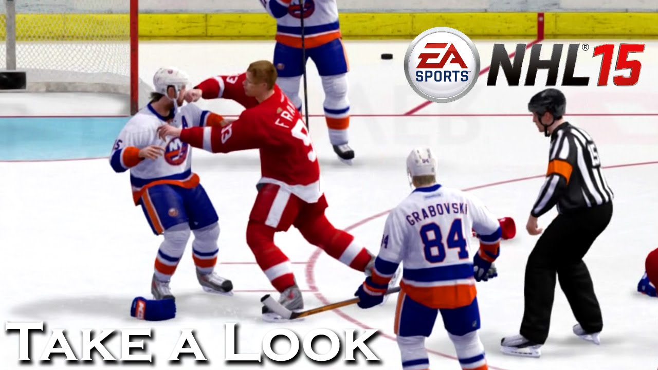Nhl 15 X360 Ps3 Gameplay Xbox 360 720p Take A Look Youtube