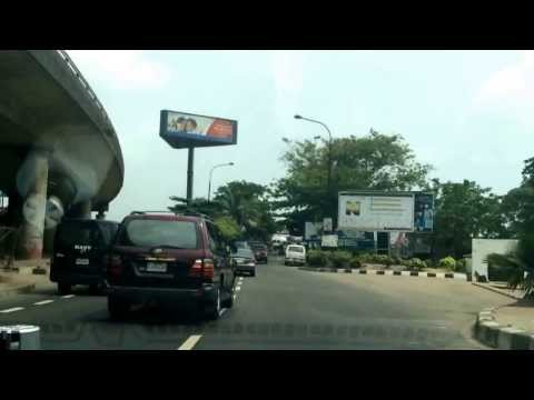 A drive through Lagos Nigeria #Lagos