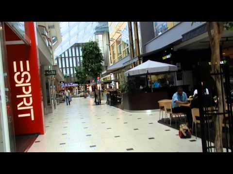 Stockholm - Suburb Tour -  Solna Centrum (mall, park and centralvägen) 2015 07 04