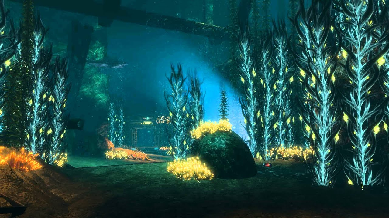 bioshock 2 - dreamscene [live wallpaper] - shark scene (1080p