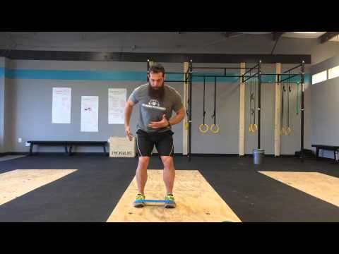Lateral Band Walks for Glute Medius Activation | GPS Human Performance