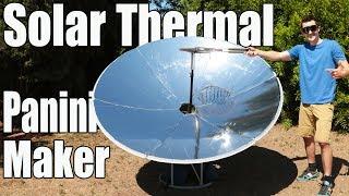 Solar Thermal Panini Maker: Solar Grilling!