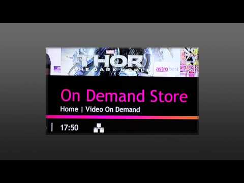 Video On Demand (VOD)  (Astro's New TV Guide)