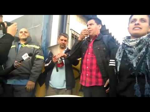 Acto en PepsiCo: Javier Hermosilla, referente oposición planta Mondelez Pacheco