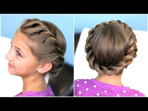 How to Create a Crown Twist Braid Hairstyles