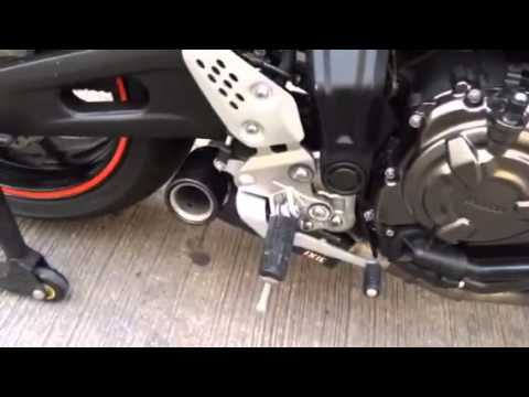ixil sx1 full system for yamaha mt 07 youtube. Black Bedroom Furniture Sets. Home Design Ideas