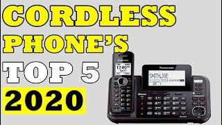 TOP 05: Best Cordless Phones of 2020