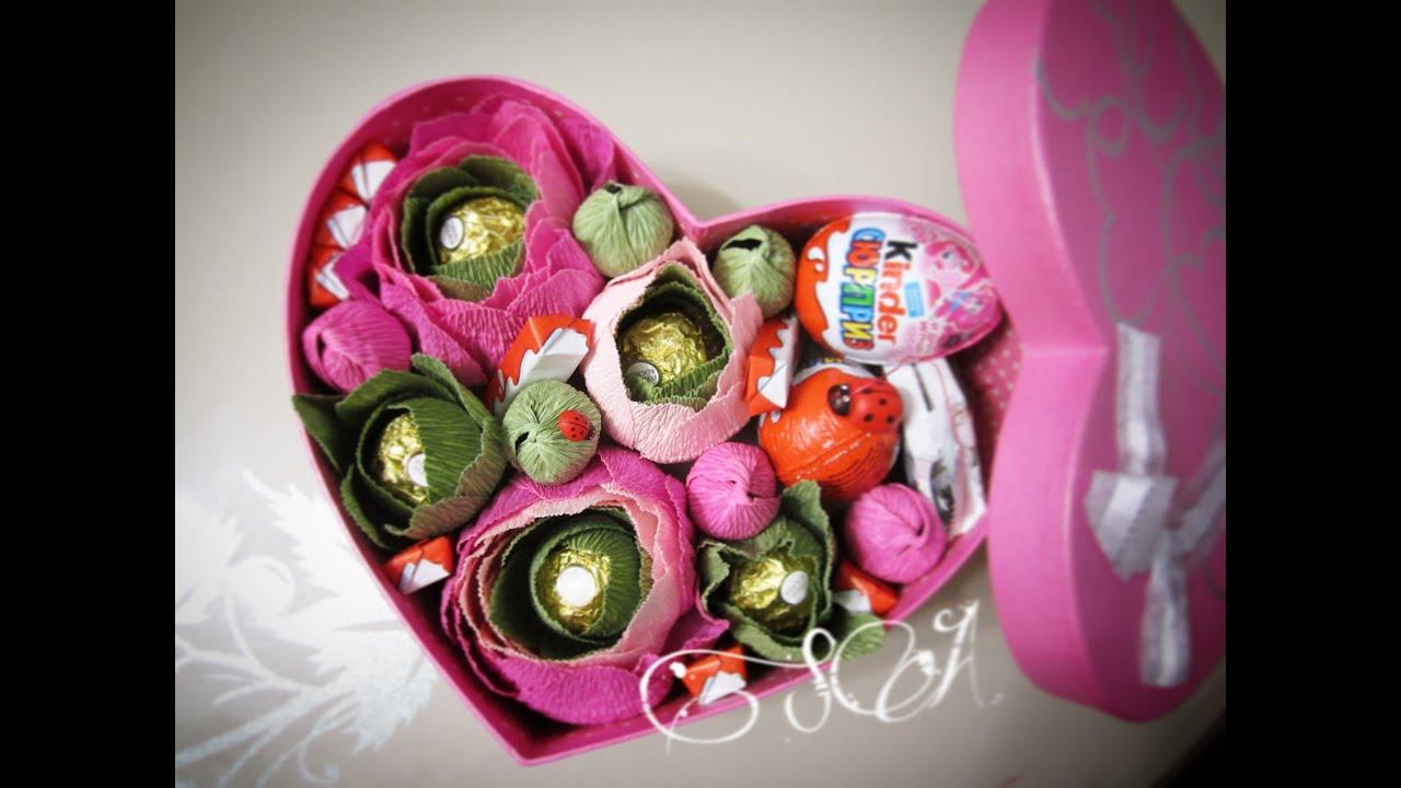 Конфеты в цветах розах своими руками из бумаги фото 607